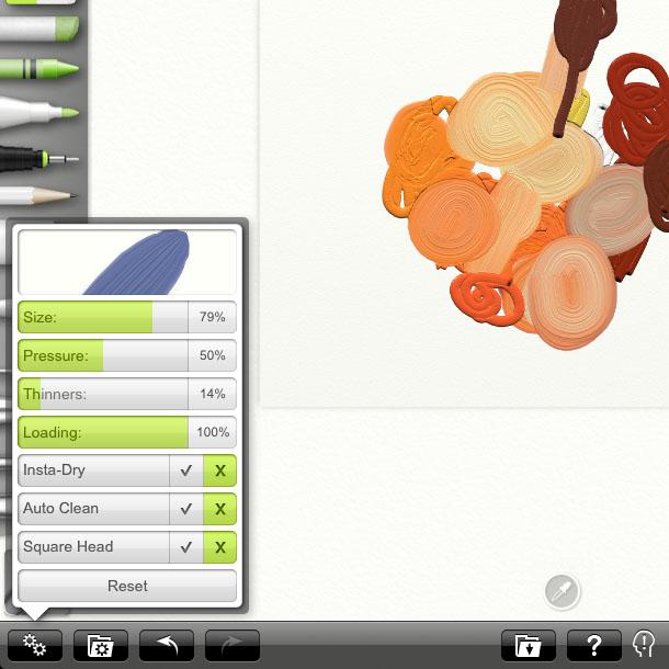 Artrage OilPaint Brush An apple a day   ArtRage again   Day 5