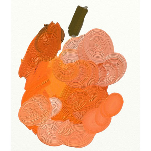 Artrage apple21 An apple a day   ArtRage again   Day 5