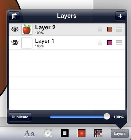 inkpad features ipad 4 An apple a day   Inkpad on the iPad   Day 9
