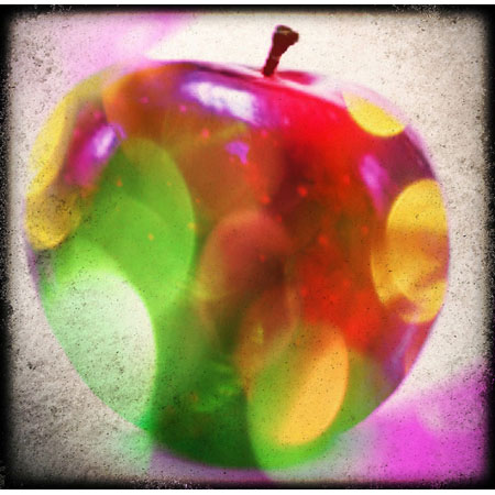 pixlr apple An apple a day   Day 7   Pixlromatic