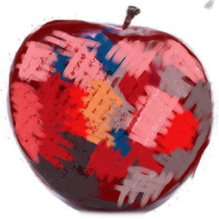 sketchbookpro apple32 An apple a day   Back to SketchBook Pro   Day 6