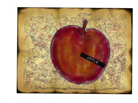 20111001 155642 e1317511840616 An apple a Day   Sketch Club   Day 13