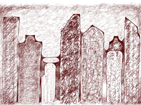 cityscape 2 omnisketch OmniSketch images   iPad app