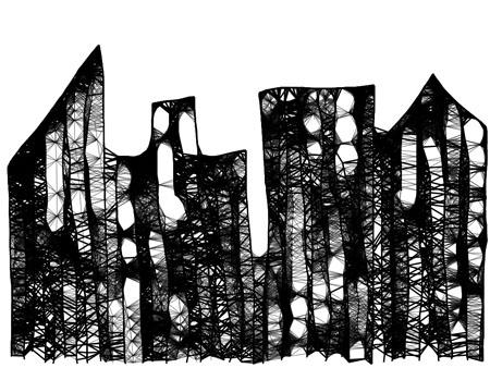 cityscape omnisketch 1 Cityscape in OmniSketch on the iPad