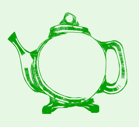 teapot1 omnisketch PhotoStudioHD iPad app rocks this image
