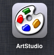 ipad artstudio step by step frames 1a Cool photo frames in ArtStudio on the iPad