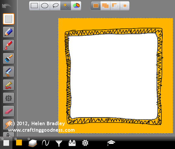 ipad artstudio step by step frames 6 Cool photo frames in ArtStudio on the iPad