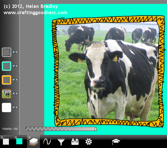 ipad artstudio step by step frames 8 Cool photo frames in ArtStudio on the iPad