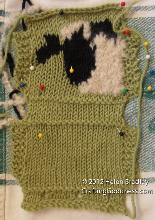 block knitting project 2 How to Block Your Knitting