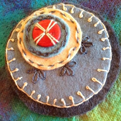 20120914 182731 Felt circles #8   a knotty problem
