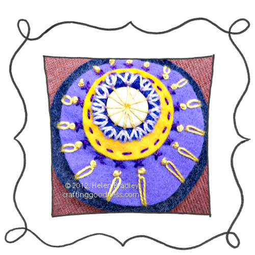 Embroidery running stitch example Embroidery 101   Running stitch
