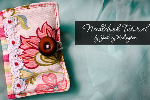 johwey redington needle book Felt Embroidered Needle Case   Inspired by my friend Anna
