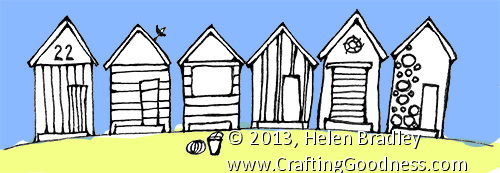 Step by step how to draw row houses crafting goodness for Beach house drawing