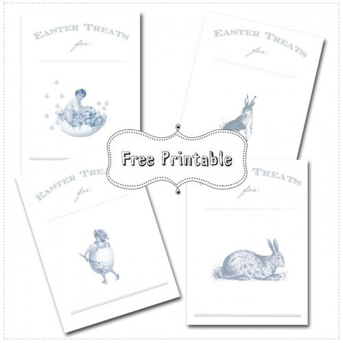 Easter Printable by funkytime e1364580129122 Free downloadable vintage Easter wonderfulness