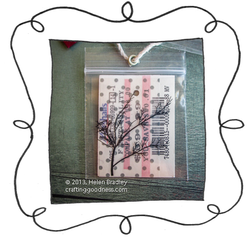 multi tags with laser printed overlays fractal trees opener 3 Recycle clothing tags with photos on acetate