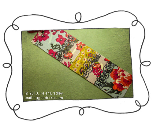recycled clothing tags floral washi tape and pen 4 I Heart Washi tape   decorate recycled price tags with mixed florals