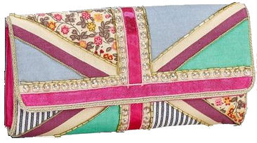 accessorize union jack embroidered pouch Union Jack embroidered pouch