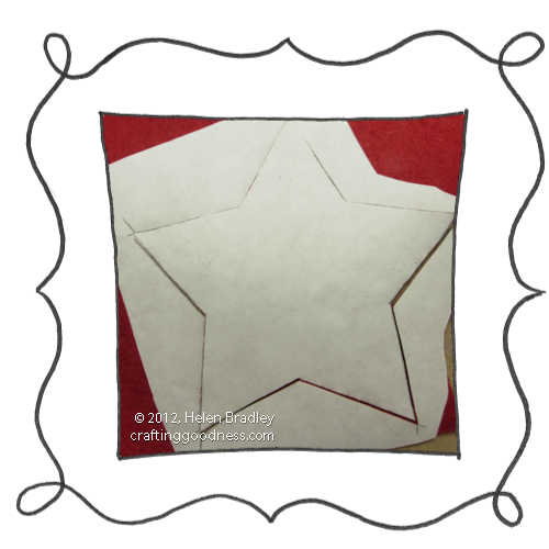 make a 5 pointed dimensional felt star ornament8 Make a dimensional felt 5 pointed star