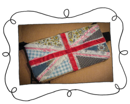 union jack embroidered pouch 1 Union Jack embroidered pouch
