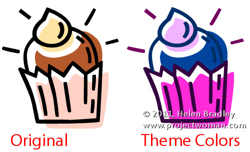 how to edit and recolor clip art in ms word Recolor ClipArt for your crafting projects