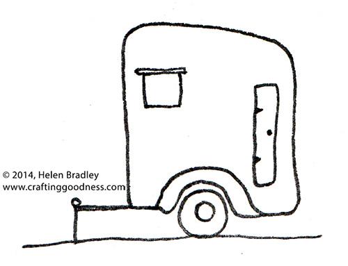 trailers 1 Cute Caravan Drawings