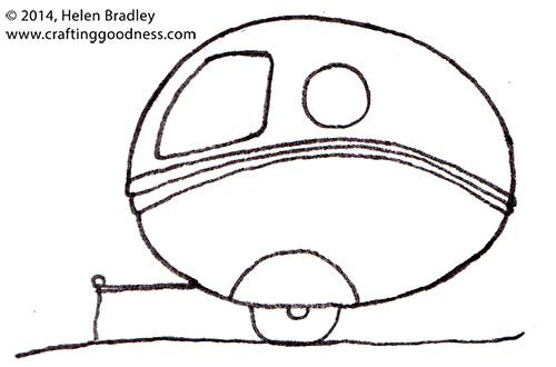 trailers 2 Cute Caravan Drawings