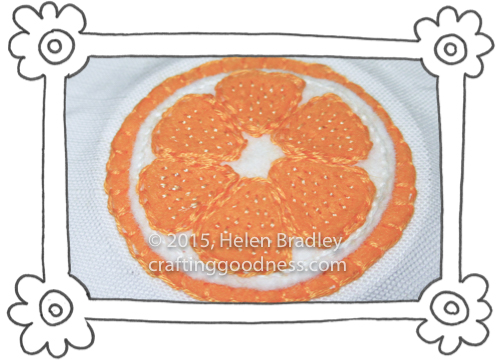 oranges and lemons in felt 3 Sewing Felt Oranges and Lemons