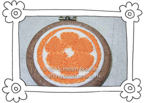 oranges and lemons in felt 4 Sewing Felt Oranges and Lemons