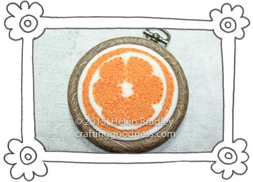 oranges and lemons in felt 5 Sewing Felt Oranges and Lemons